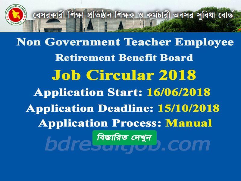 Non Government Teacher Employee Retirement Benefit Board