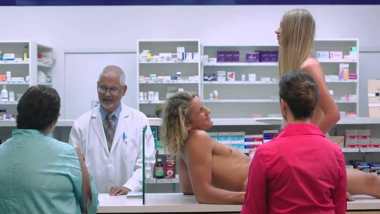 banned four seasons australian naked condom commercial - adpressive