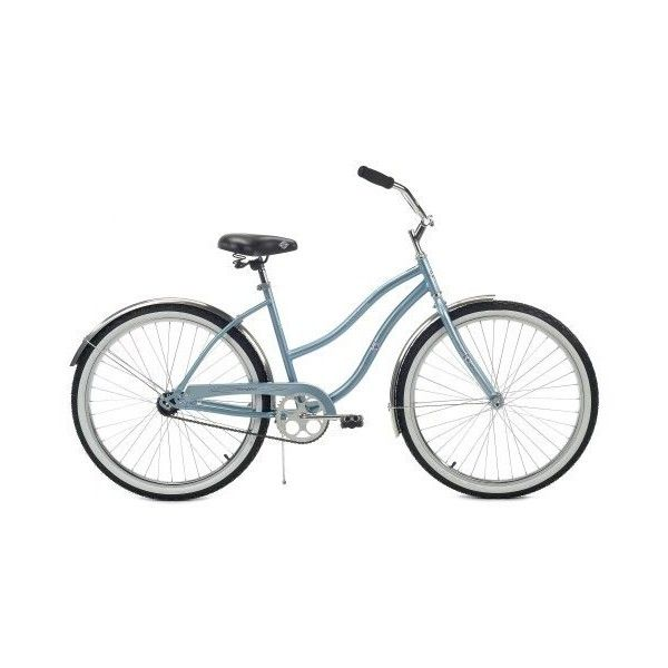 Online Bicycle: Old and Mature Women's Cruiser Bike ❤ liked on Polyvore featuring bike, bicycle, fillers, transportation and misc