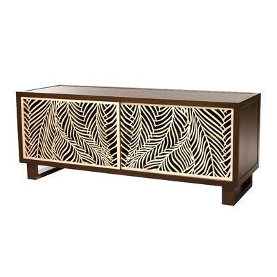 Bayou Breeze Childers Solid Wood TV Stand