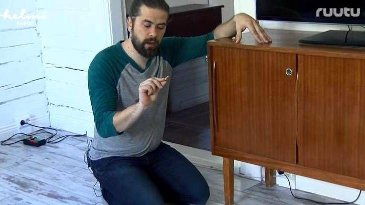"""Uskomaton kikka peittää huonekalun naarmun: """"Tämä on ihan mahtavaa"""""""