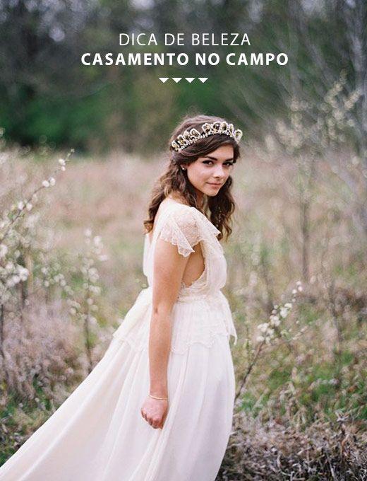 os Achados | Beleza | Dicas de beleza para um casamento no campo