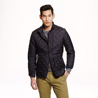 cc1ca3b26b1e3 Barbour® flyweight Chelsea quilted jacket - Barbour - Men's outerwear -  J.Crew