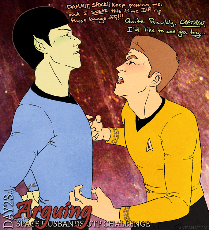 Space Husbands OTP Challenge 23 by anifanatical on deviantART