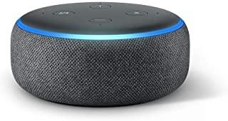 Echo Dot 3rd Gen Smart Speaker With Alexa Charcoal In 2020 Speaker Smart Speaker Echo Dot