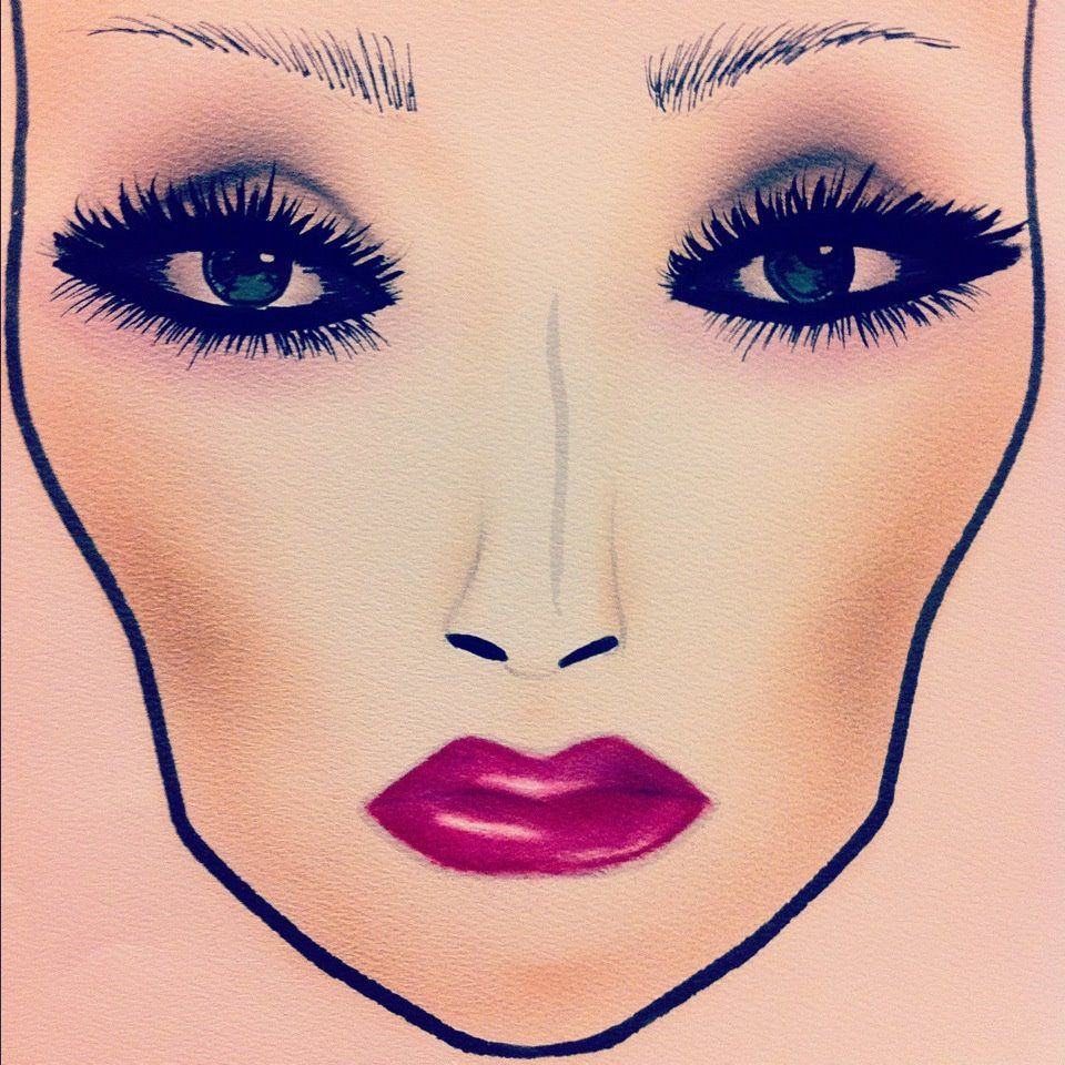 Pin de Nadine Vendryes em Face Charts imagens)