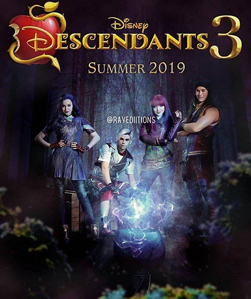 Descendants 3 2019 Disney Channel Descendants Disney Descendants Disney Descendants 3