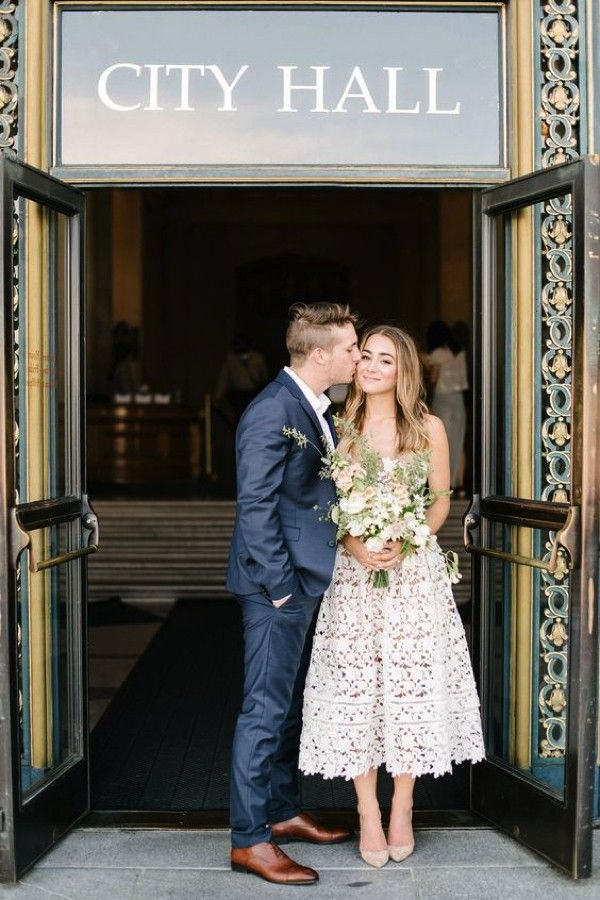 How to have a beautiful wedding in registry office. Image