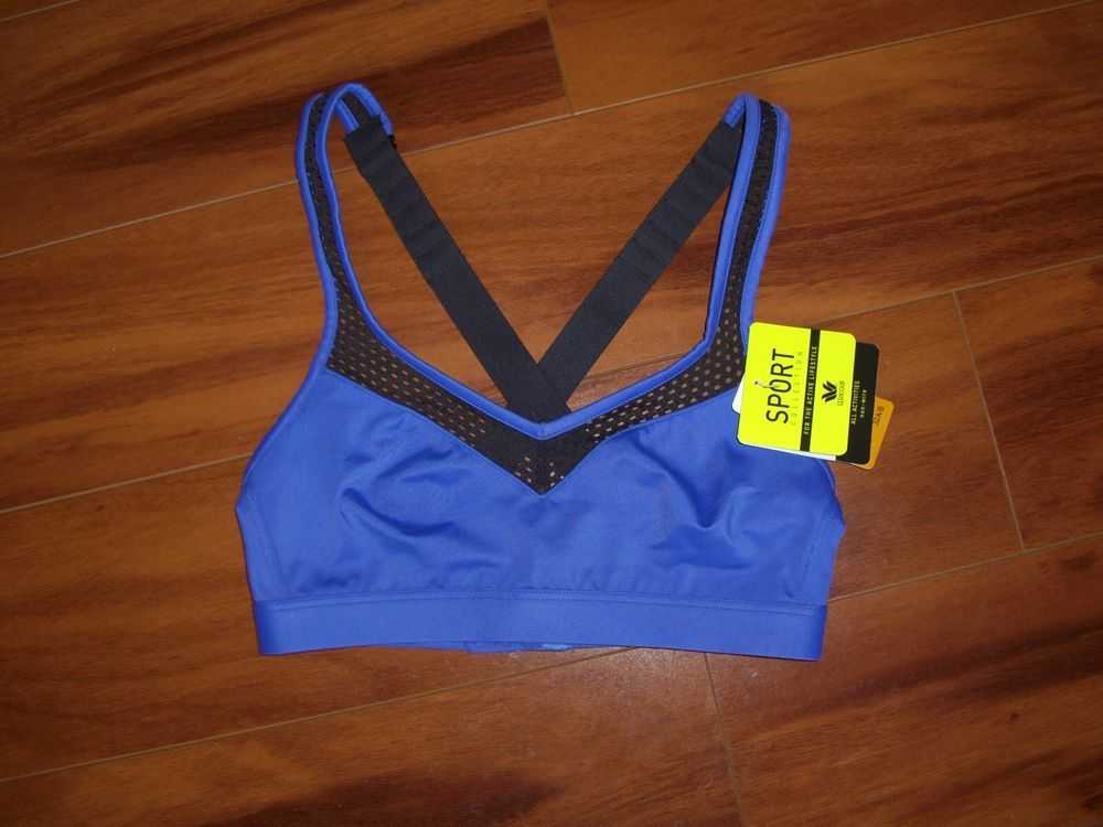 Wacoal NWT Blue Nonwire Sports Bra Size 32 A/B Wacoal
