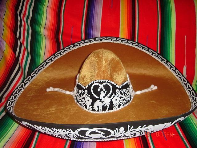 Soto Impotaciones  Sombrero Mexicano Café Claro  9ed8253ef46