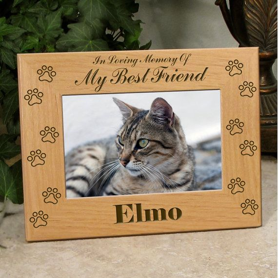 Pet Sympathy Gift - In Loving Memory Of My Best Friend ..or.. Our ...
