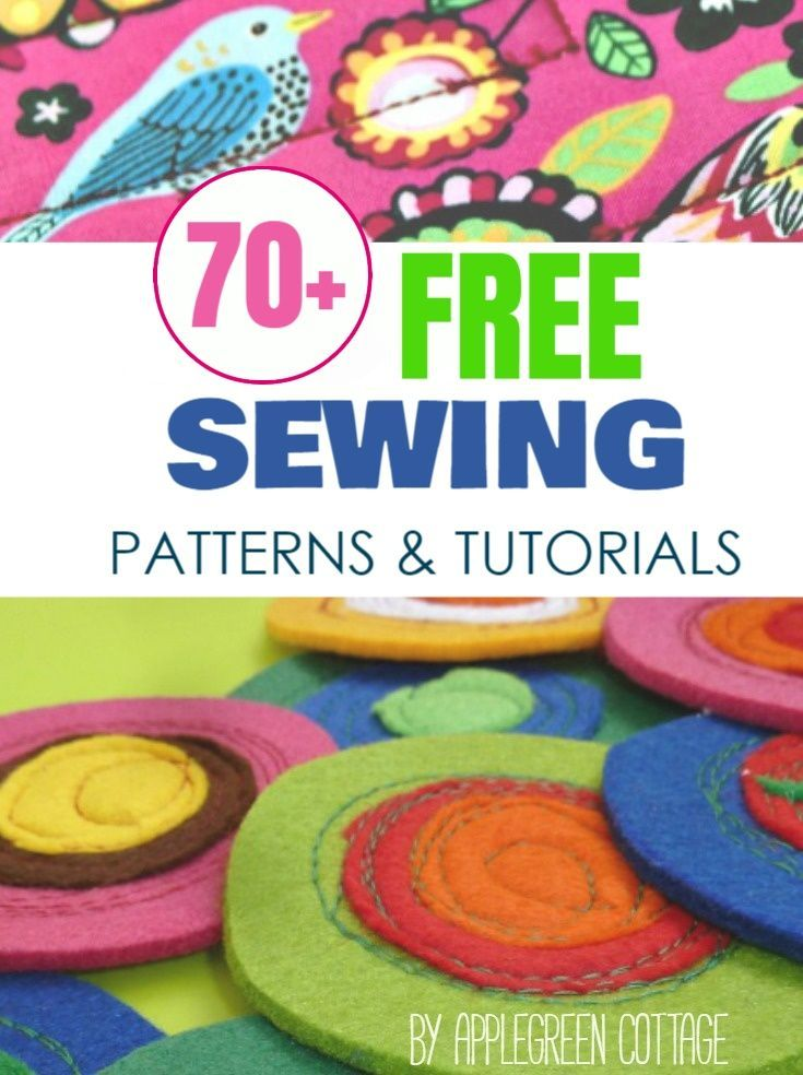 Free Patterns Tutorials Free Sewing Patterns Pinterest Pouch