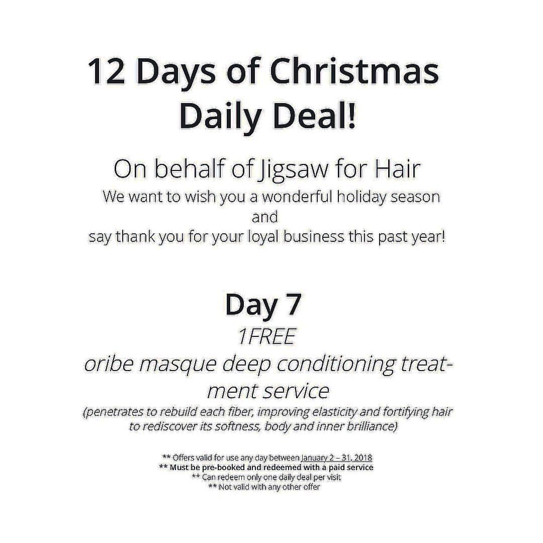 19 days of Christmas, luxury hair salon, marketing ideas  Hair