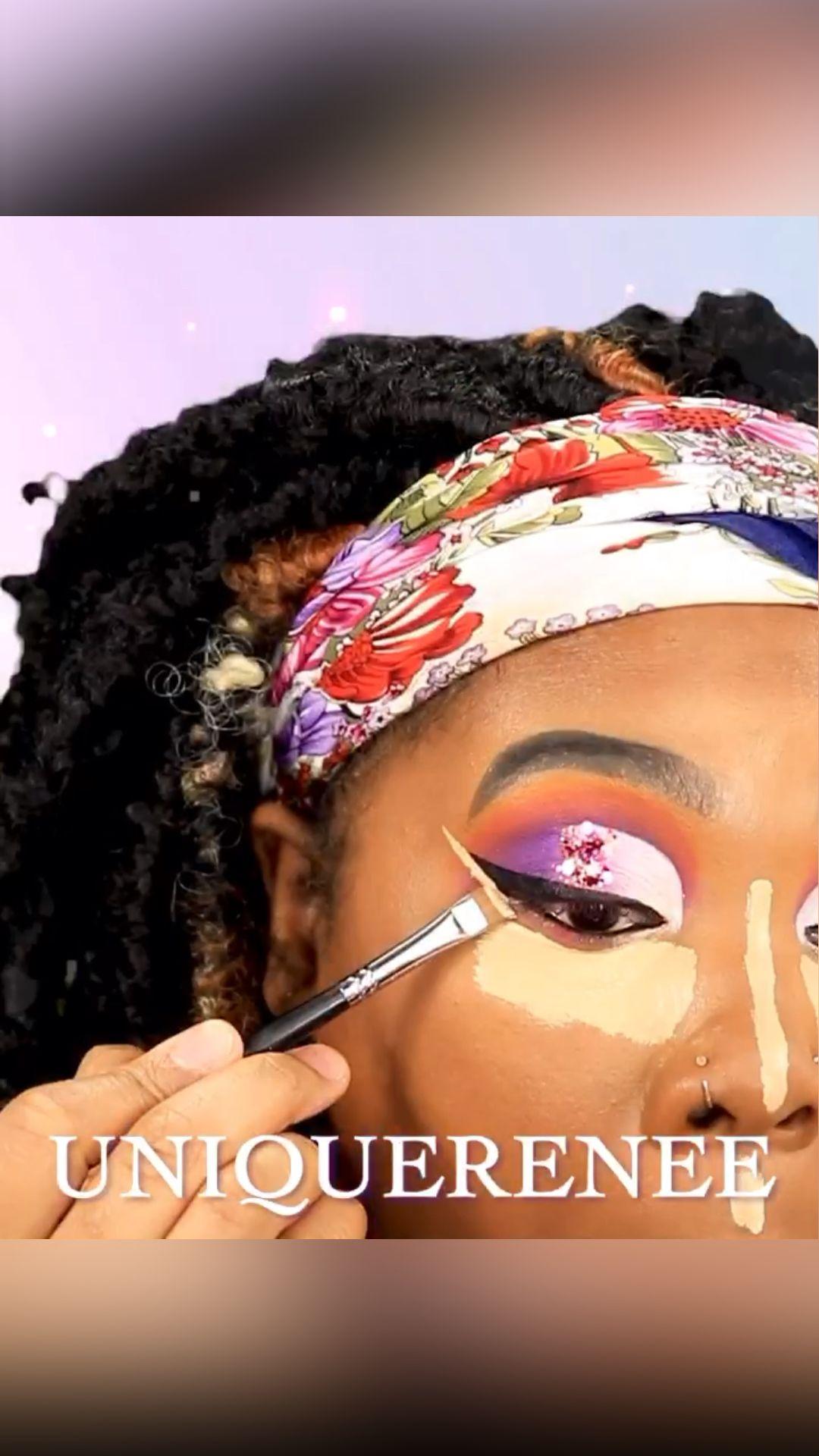 Glitter Eyeshadow Tutorial