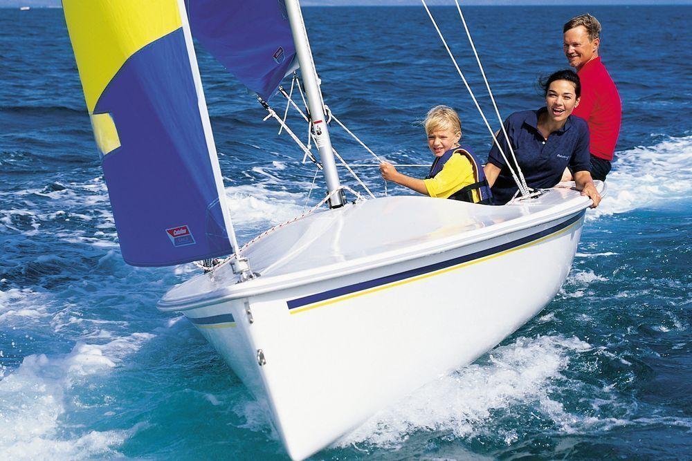 Catalina 165 yachtdrawing boat small sailboats