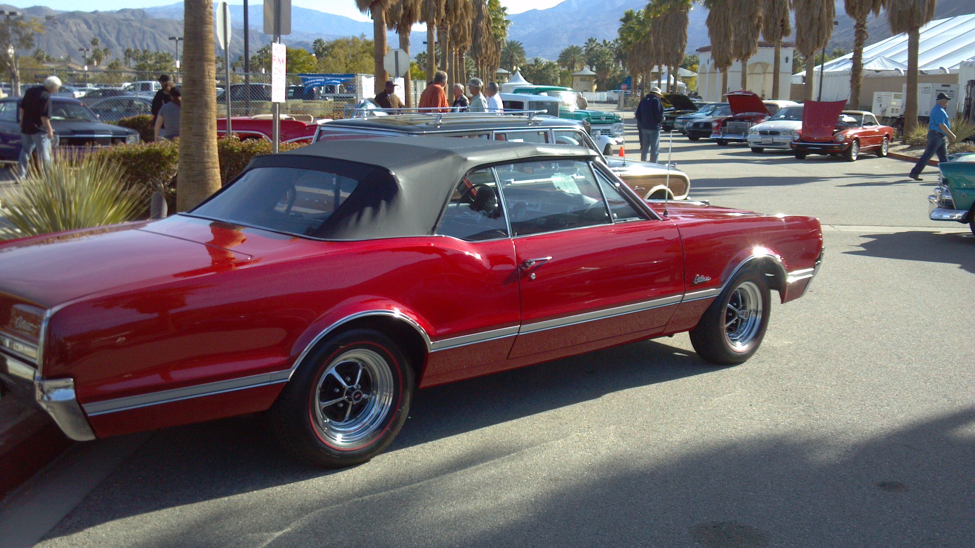 Olds cutlass convertible american muscle car connection from the