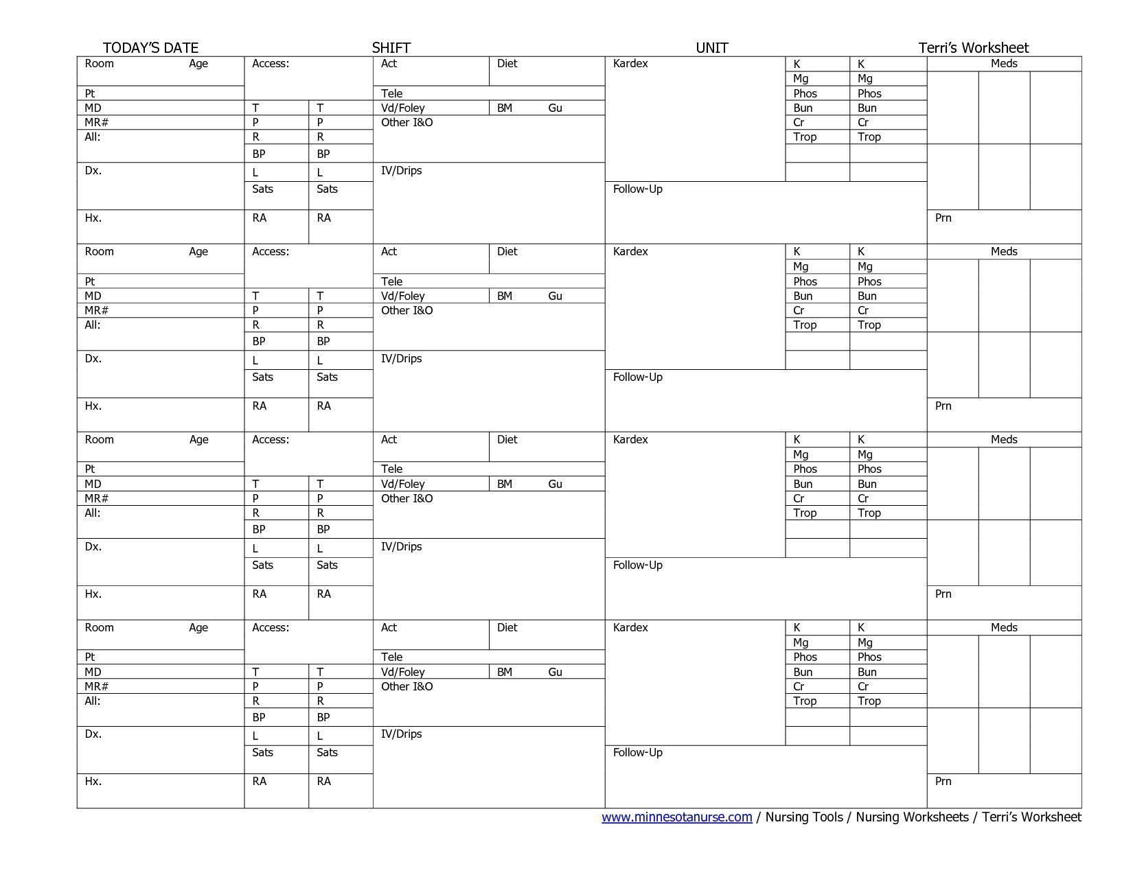 Nurses Worksheets Ukrandiffusion In 2021 Math Worksheets Printable Math Worksheets Worksheets