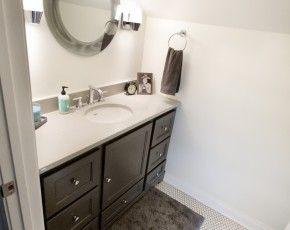 Custom Bathroom Vanities Minneapolis custom bathroom vanity | dark cabinets | custom cabinetry for