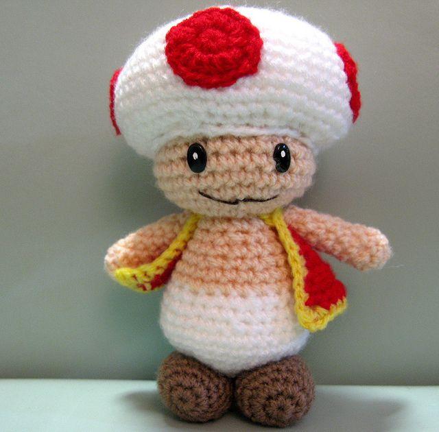 Super Mario Bros. Toad – Crochet Pattern – My Creative Blog | 630x640