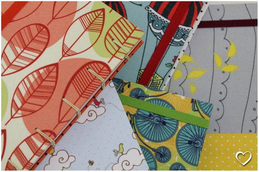as papeleiras: cadernos
