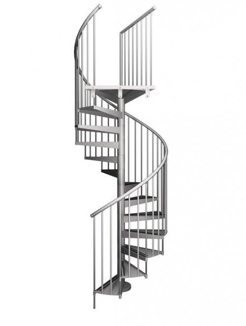 Escalera de caracol modelo tecno escaleras stairs - Imagenes de escaleras de caracol ...