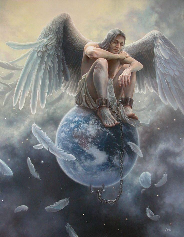 image result for fantasy art male angels angels pinterest engel bilder malerei und. Black Bedroom Furniture Sets. Home Design Ideas