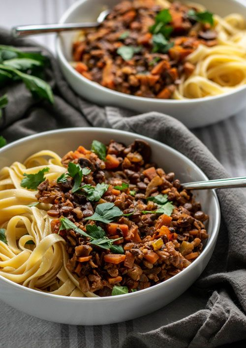 Photo of Vegan Bolognese with Lentils and Walnuts | The Hungry Waitress