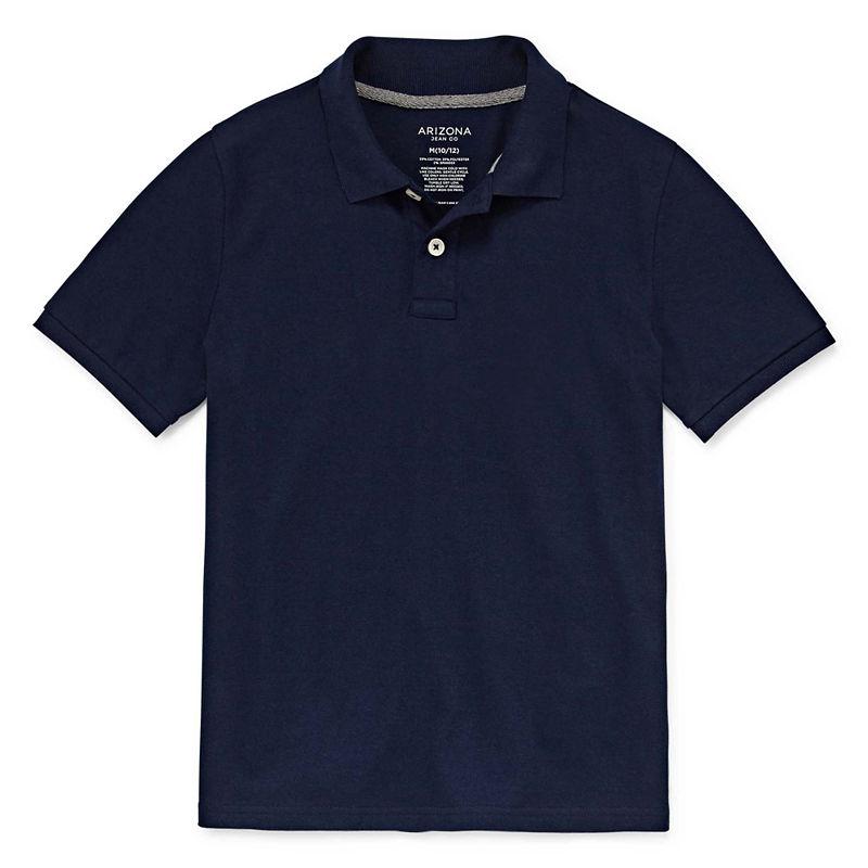 d98a275abe9 Arizona Boys Point Collar Short Sleeve Polo Shirt   Products in 2019 ...