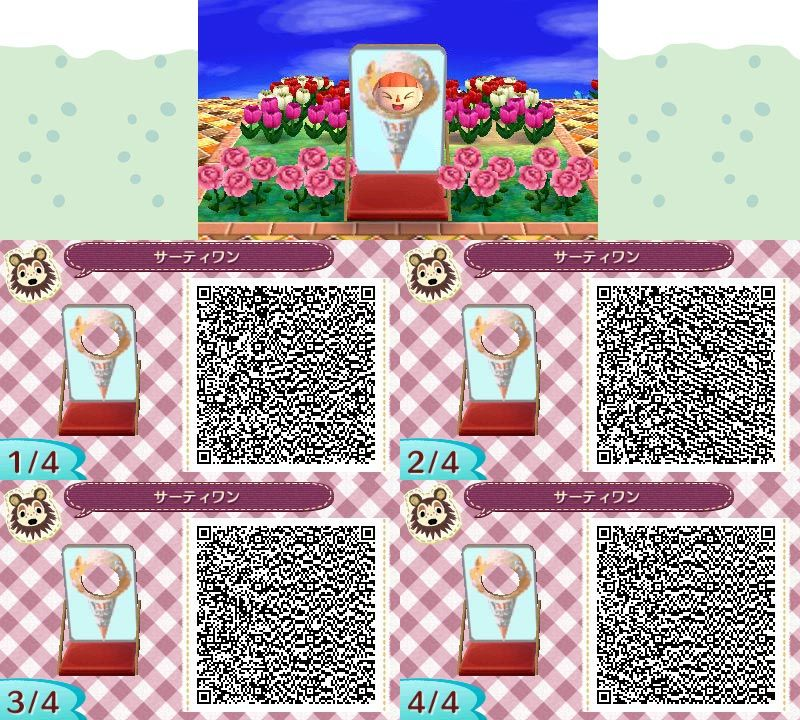ACNL QR CODECotton Candy Standee (With images) Animal