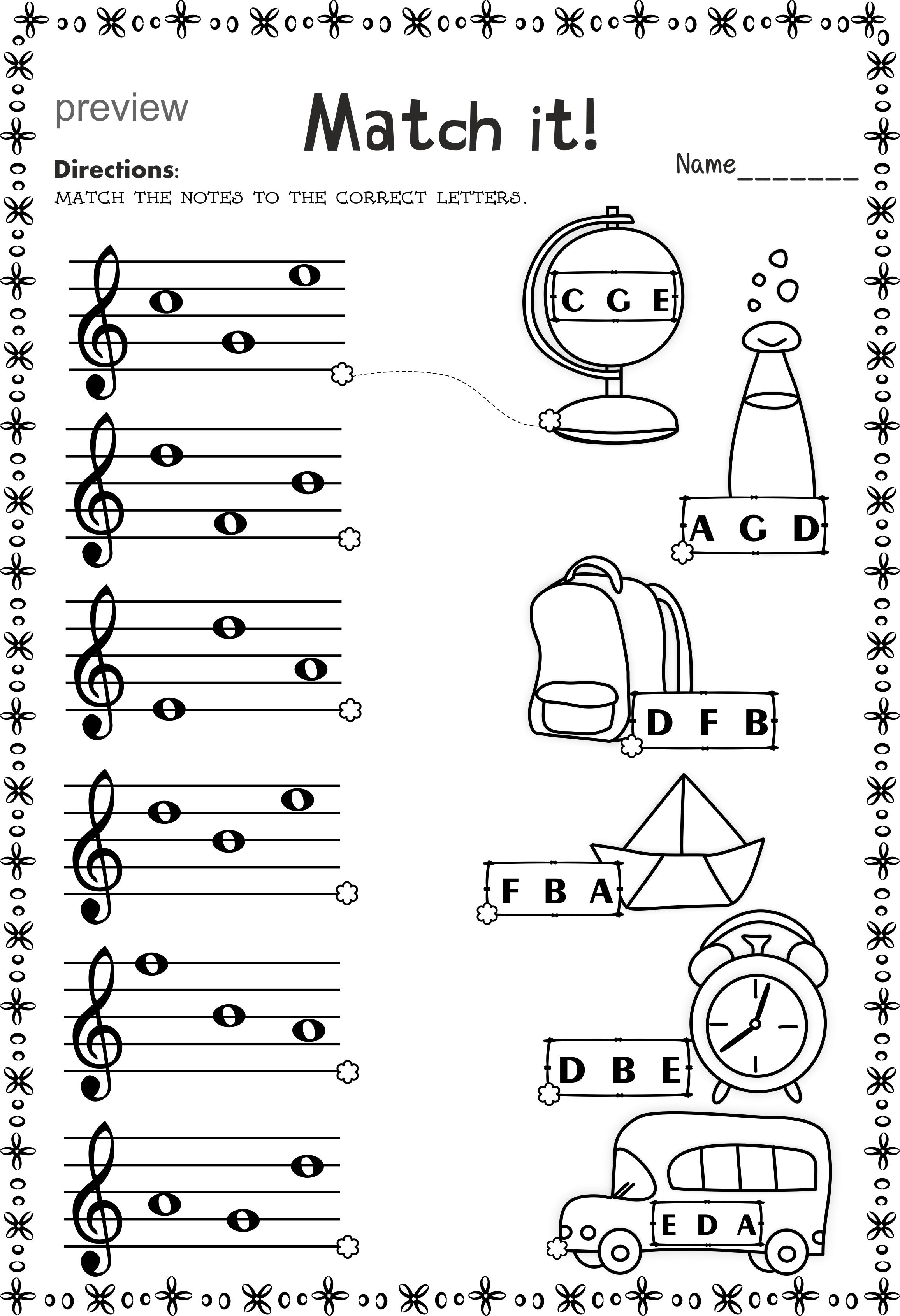 worksheet Note Naming Worksheets For Piano back to school treble clef note naming worksheets pianos piano worksheets