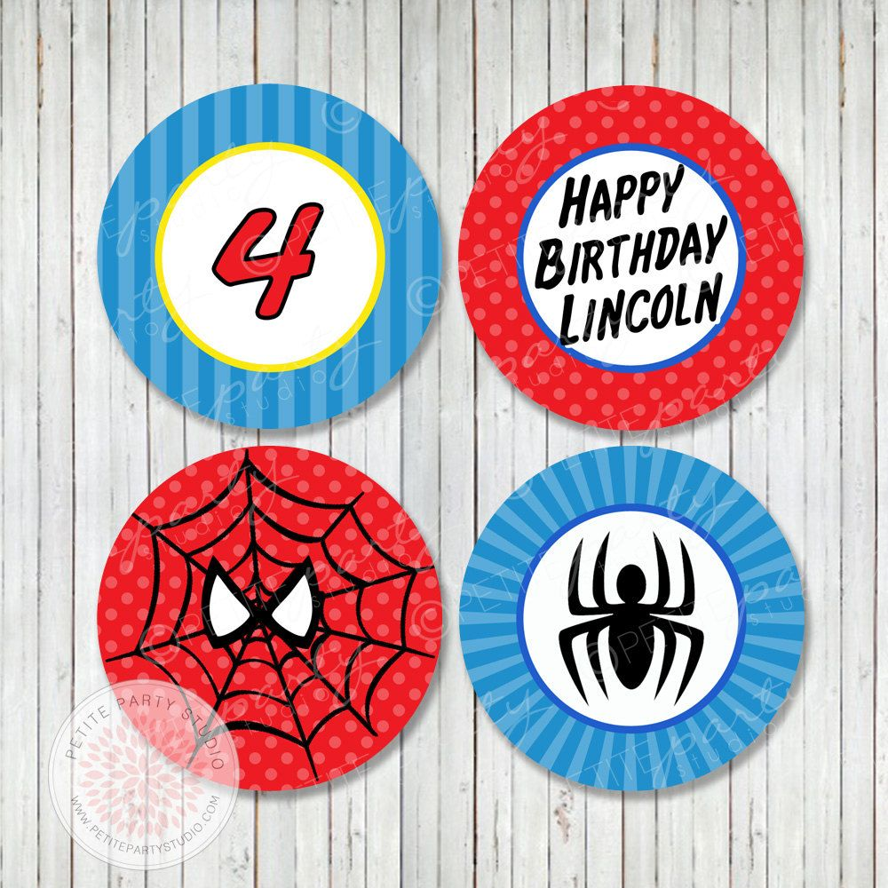 Happy Birthday Para Hombres ~ Ideas para fiesta de spiderman hombre ara�a pinterest and printable party