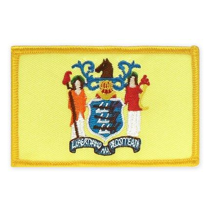 """Embroidered Iron On Patch Hawaii State Flag 4 1//2/""""x 1 1//2/"""""""