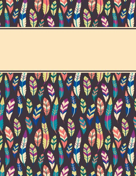 Free printable feather binder cover template download the cover free printable feather binder cover template download the cover in jpg or pdf format at pronofoot35fo Images