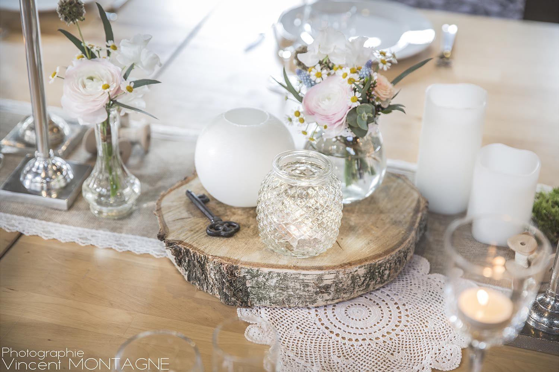 Centre De Table Pour Une Decoration Douce Et Champetre Retrouvez