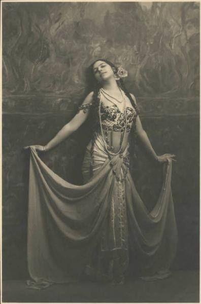 Mata Hari by Emilio Sommariva, 1912.