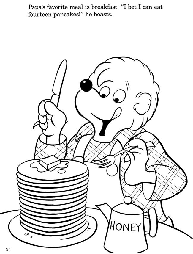Berenstain Bears 4 | Children\'s Crafts & Color Pages | Pinterest ...