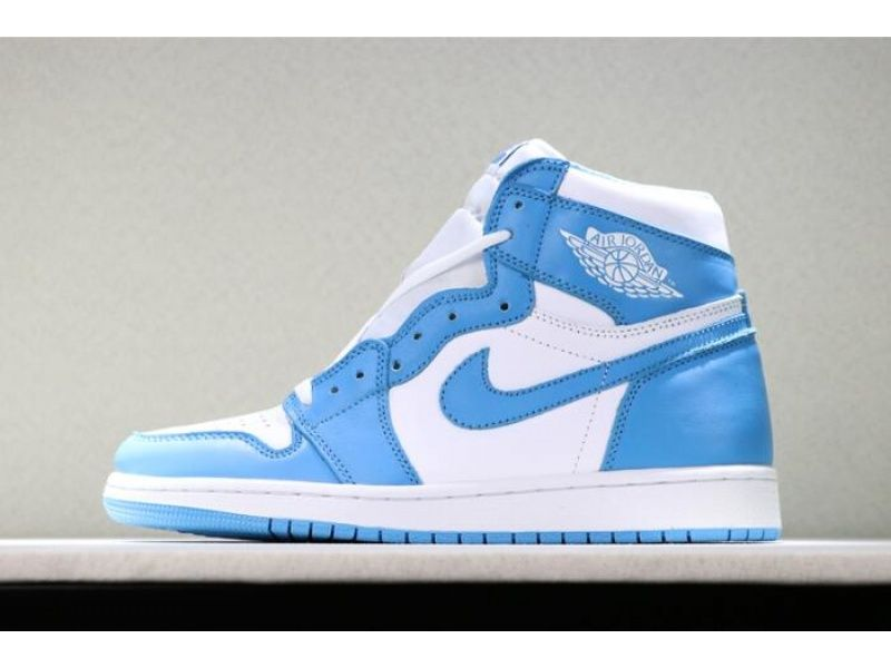 Air Jordan 1 Retro High Og Unc Dark Powder Blue White For With