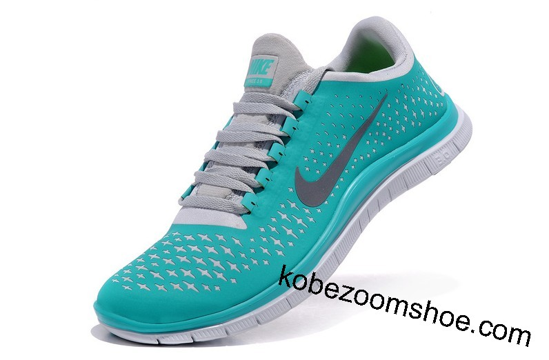 e4b36ffe7ef06 Womens Tiffany Blue Nike Free Running Shoes Size US 10.5