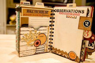 gorgeous travel journal