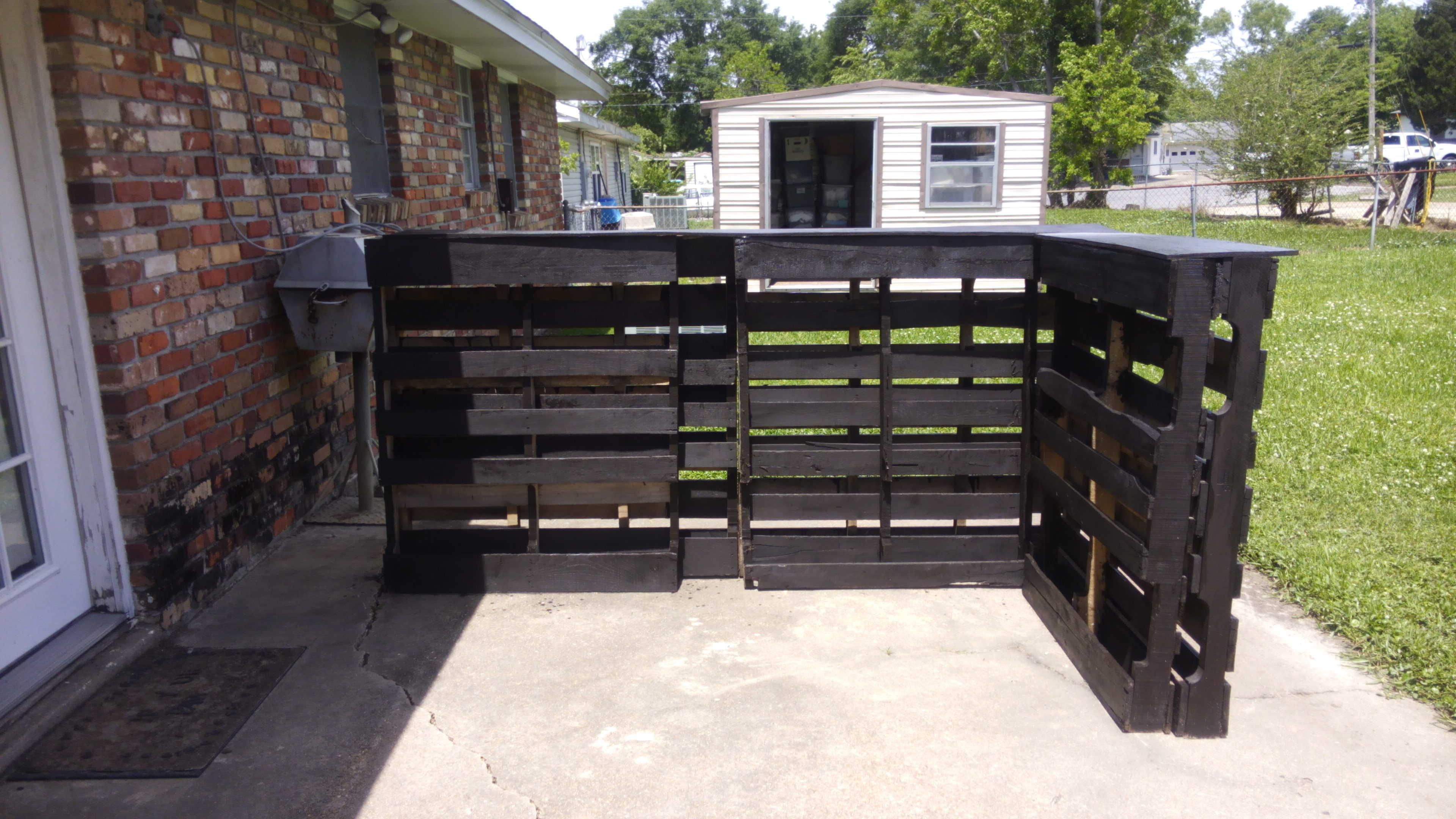 pallet stores furniture. I Made This Pallet Bar Using Six Pallets Picked Up Behind A Furniture Store. Stores