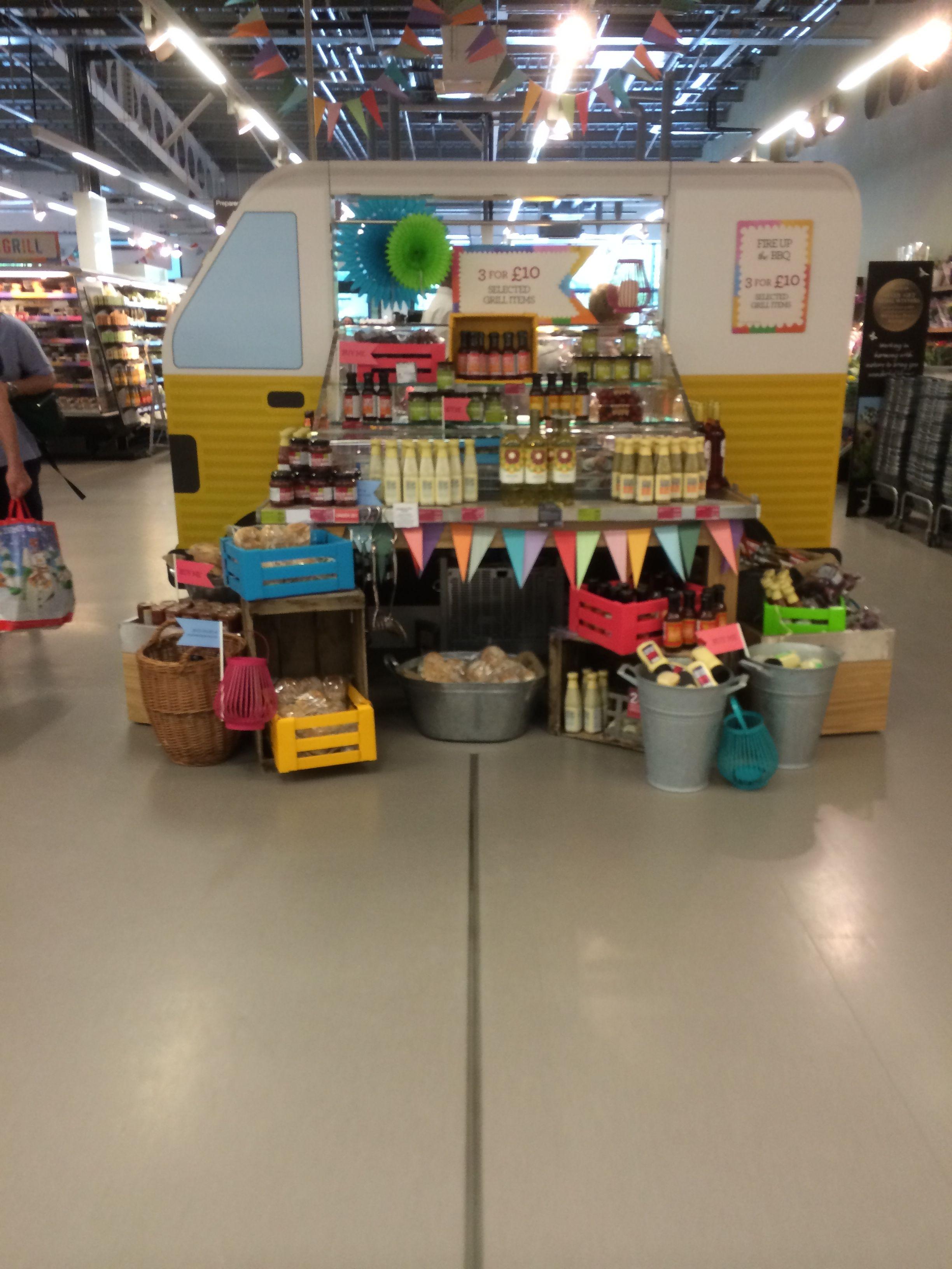& - Shoreham Foodhall Food Supermarket Layout
