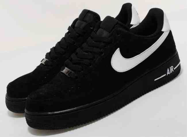 cheap for discount d9742 0f297 Nike Air Force 1 Suede All black