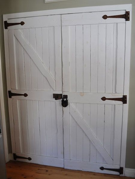 closet door ideas barn style doors are being used inside the home for just about everything. Black Bedroom Furniture Sets. Home Design Ideas