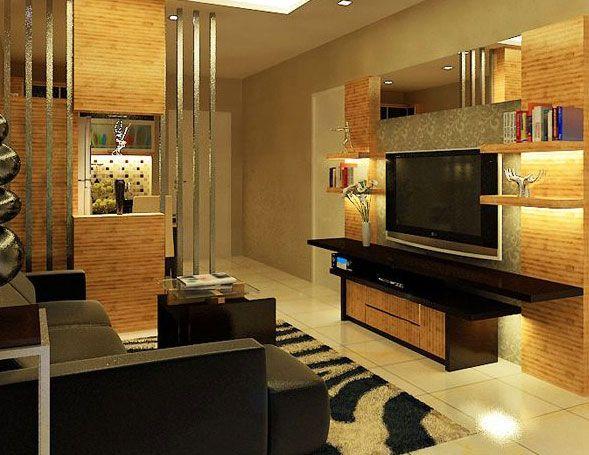 Desain Interior Ruang Keluarga Rumah Minimalis Interior