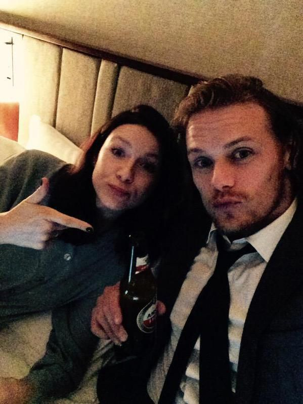 are sam and cait from outlander dating smoke dating