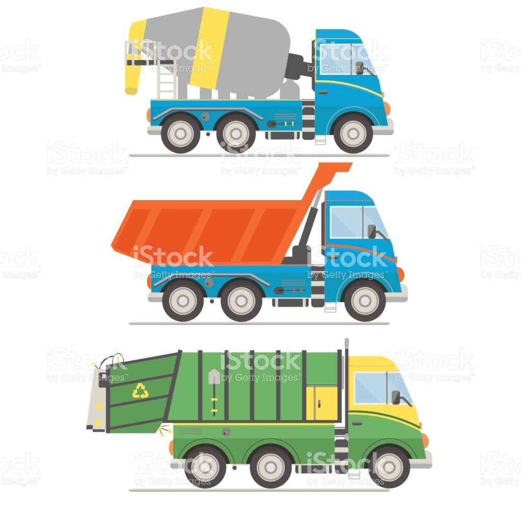 44+ Garbage truck vector clipart ideas
