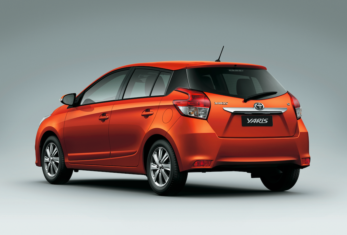 new car launches in philippinesToyota Philippines launches allnew Yaris hatchback  Motioncars