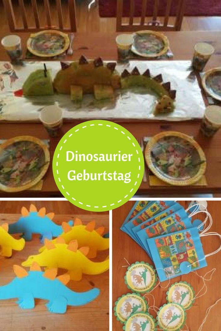 Unsere Dinoparty: Spiele, Deko, Dinokuchen und kleine Geschenke ratzfatz organisiert. - Mama im Spagat