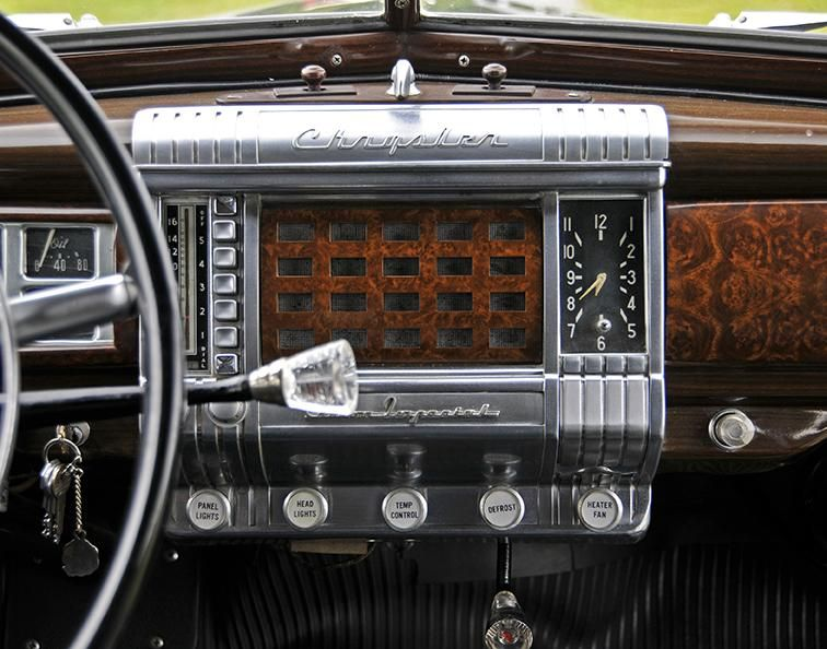 Auctions 1948 Chrysler Imperial Limousine Owls Head