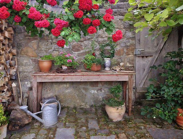 jardin de curé | Jardin de campagne | Pinterest | Garden ideas and ...